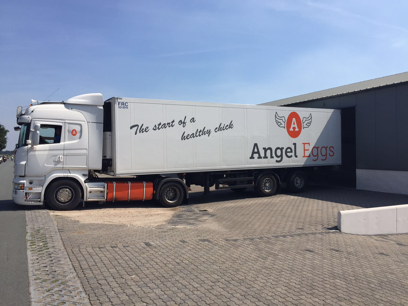 Angel Eggs Truck