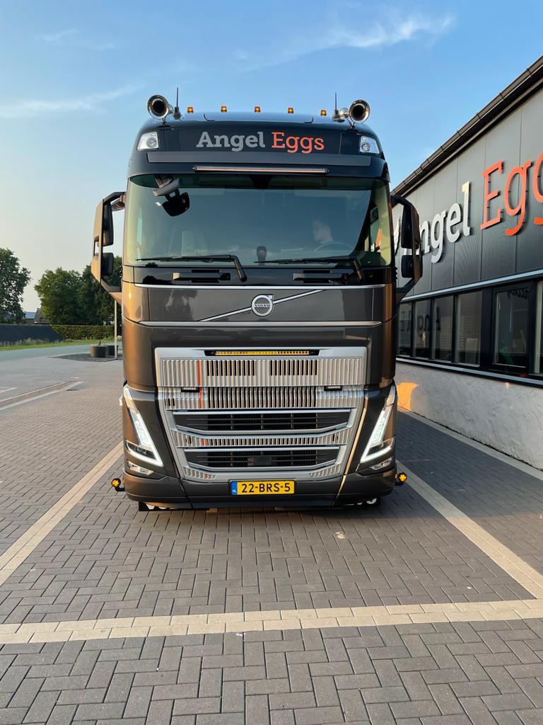 Angel Eggs Vrachtwagen Voorkant